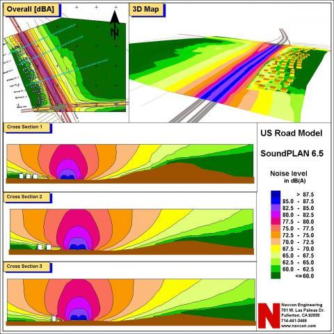 Navconcom Noise Vibration Consultants - Us noise map